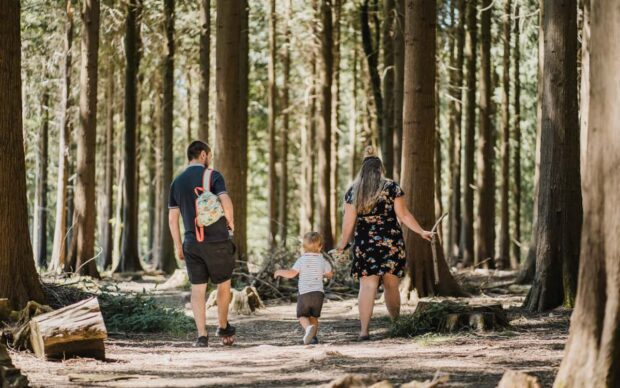 Outdoor Forest Family Photographer - Perfect Story Photography