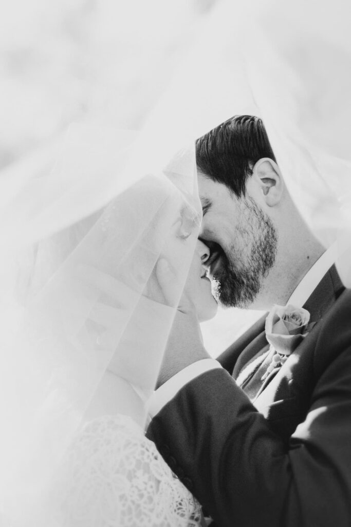 Black and White Wedding Photographer - Perfect Story Photography