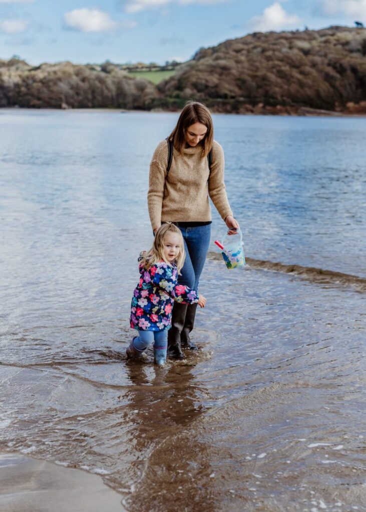 Outdoor Seaside Beach - Plymouth Family Photographer - Perfect Story Photography
